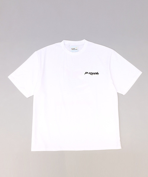 P-ROOM THE WORLD LOGO TEE