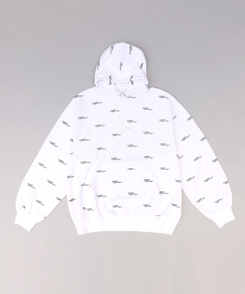 P-ROOM THE WORLD LOGO HOODIE
