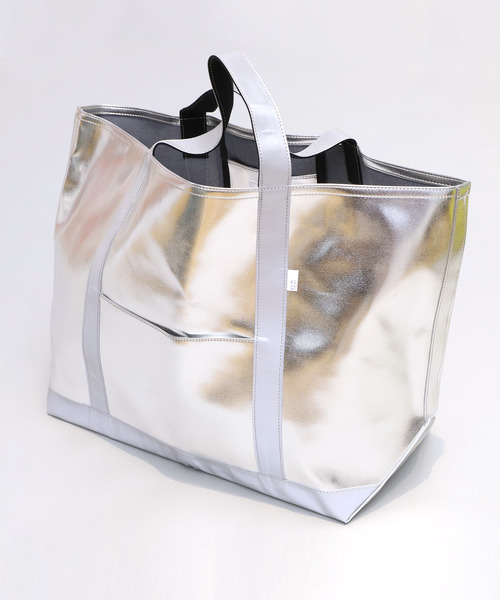 2G SILVER TOTE BAG LARGE