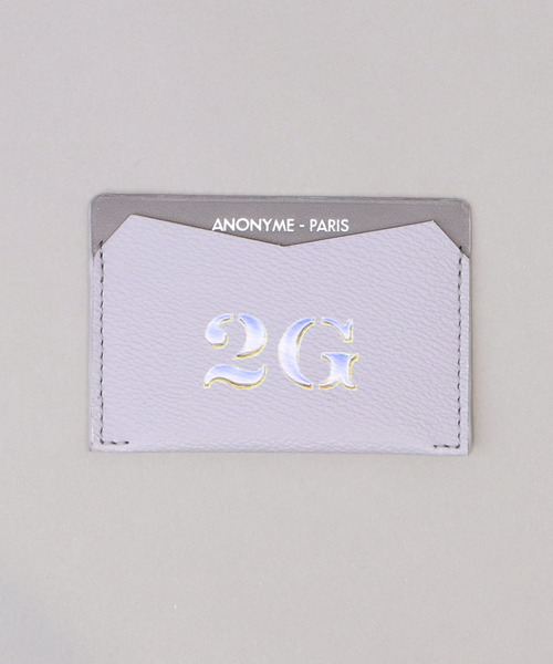 ANONYME PARIS×2G CARD CASE