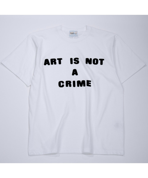 〈Style Wars×P-ROOM〉ART IS NOT A CRIME TEE
