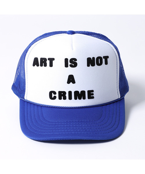 〈Style Wars×P-ROOM〉ART IS NOT A CRIME TRUCKER CAP